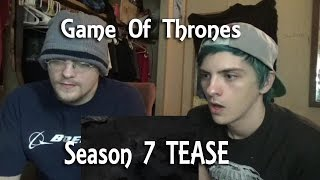 Game Of Thrones - Season 7 OFFICIAL TEASE (REACTION) SIGILS