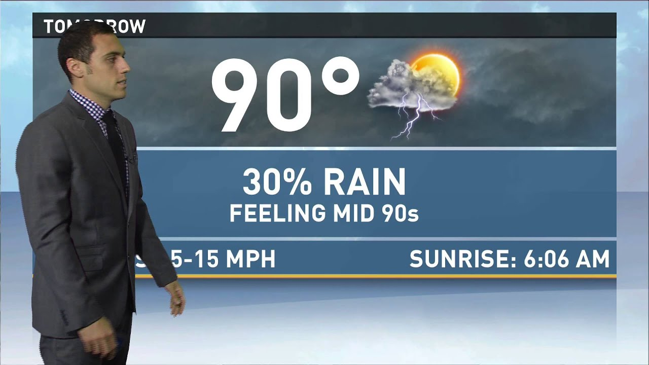 Tv meteorologist resume