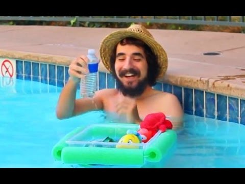 Pool Party Floating Cooler
