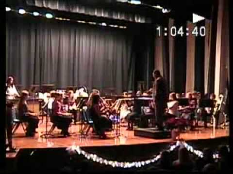 RHS (Richlands High School - Virginia)  Band 2005 Christmas Concert