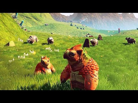 NO MAN'S SKY Launch Trailer (PS4)