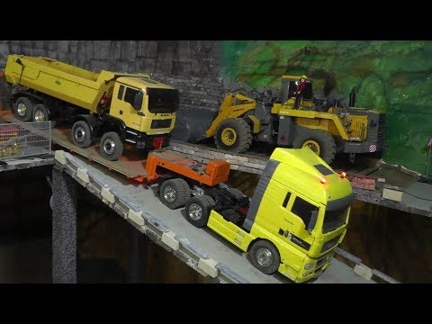 RC TRUCK ACCIDENT BEST OF CRASH🔥 RC TIPPER MAN ACCIDENT🔥RC UNFALL AUF DER BAUSTELLE