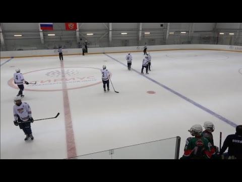 Хоккейный матч Ак Барс - Металлург на ТА Льдинка