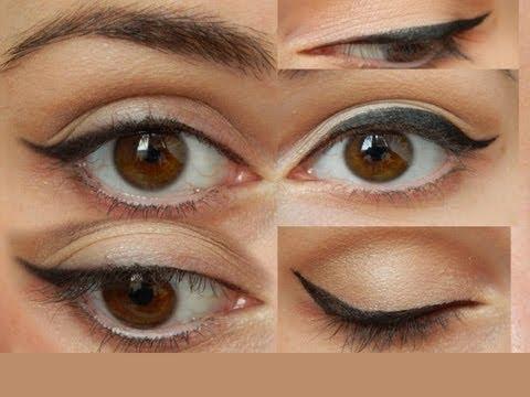 Видео как нарисовать стрелки на глазах