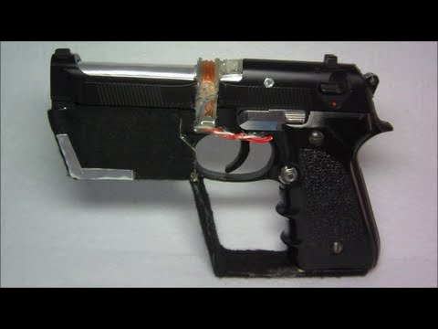 Homemade Coilgun Energy Weapon Model