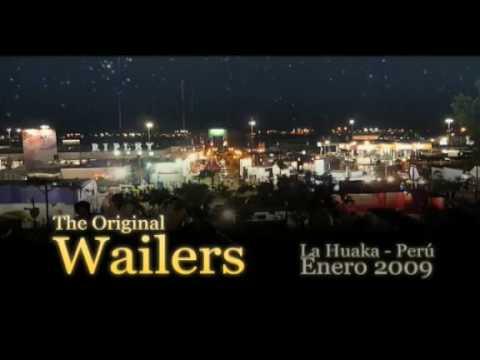 The Original Wailers in Lima Peru part1