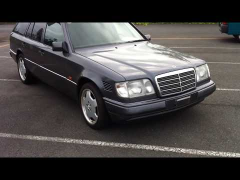 1994 Mercedes Benz E250D wagon. manual transmission
