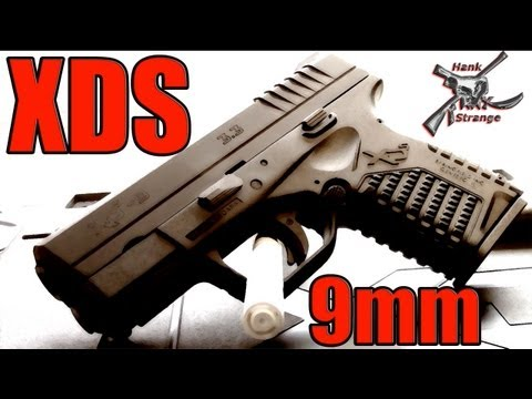 Hank Strange Springfield Armory XDS 9mm Sub Compact Gun Table Top Review & Comparison