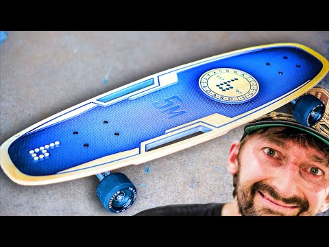 THE MOST UNIQUE SKATEBOARD EVER MADE?!
