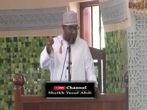 Sheikh Yusuf  Abdi - Niliofunzwa Na America (26 1 2018)  (1st Week)