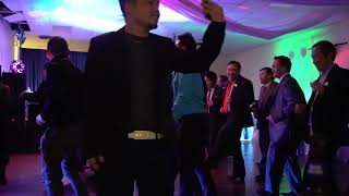 Funny Vang Council  WI man dance at night party 01/06/18