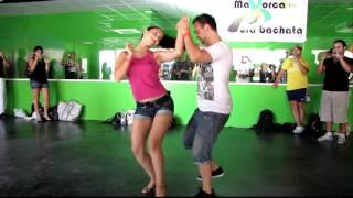 Pura Bachata Mallorca 2011. Fernando y Cristina. Bachata romántica