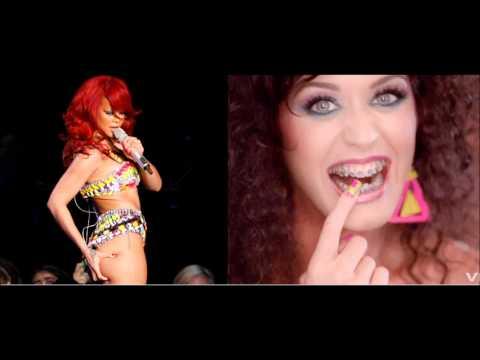 Katy Perry Ft. Rihanna - Last Friday Night, We S&M (remix)