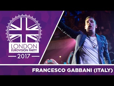 Francesco Gabbani - Occidentali's Karma (Italy) | LIVE | 2017 London Eurovision Party