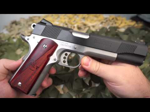 Colt 1911 Goverment Model Combat Elite 45ACP Pistol Review - Texas Gun Blog
