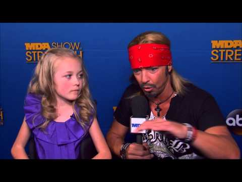 Bret Michaels - 2014 MDA Telethon Blue Carpet Interview