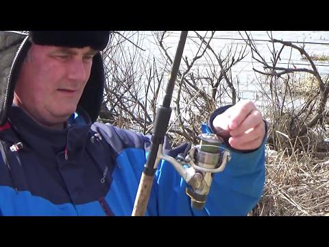 рыбалка ранней весной на озерах видео