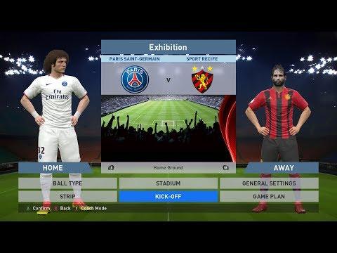 Paris Saint-Germain FC vs Sport Recife, Parc des Princes, PC GAMEPLAY, PCGAMEPLAY, PRO EVOLUTION SOCCER 2016, PES 2016, Konami E-MAIL: BlackWidowGameTV@Gmail.com ----------------------------------...