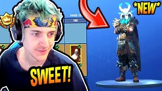 NINJA REACTS TO *NEW* SEASON 5 BATTLE PASS! *LEGENDARY* Fortnite FUNNY & SAVAGE Moments