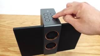 treVolo S Electrostatic Bluetooth Speaker Review   Youtube
