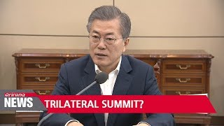 S. Korea to propose March 29 talks with N. Korea; Moon hints at possibility