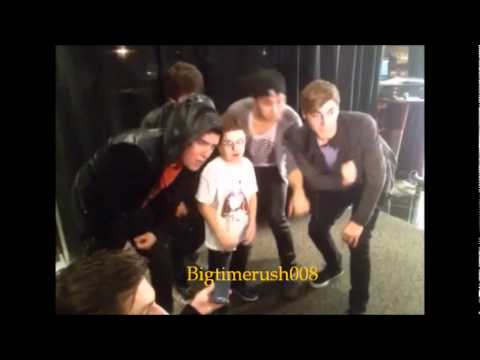 Big Time Rush Jammin Out with Keenan Cahill Part 1 & 2