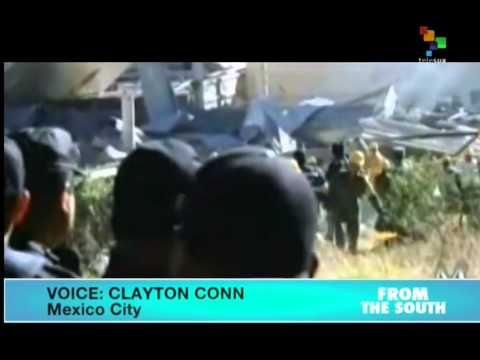 Gas explosion near a childrens' hospital in Mexico kills at least 2