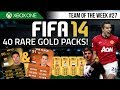fifa 14 | 40 free rare packs! feat. sif ...