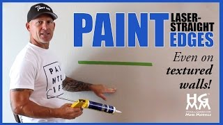 How to paint straight lines perfectly