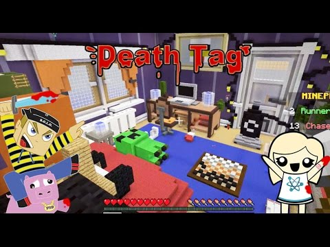 Death Tag Minecraft Mini Game With Hannah Carr
