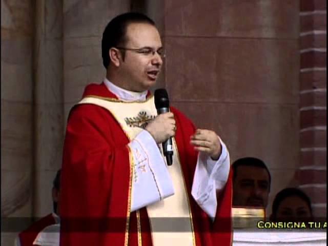 Homilia Padre Aicardo - Misa de Sanación 14/08/2011