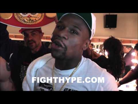 FLOYD MAYWEATHER ONLY THE EXCLUSIVE ON FIGHTHYPE