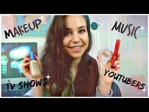March Favorites 2014 | Drugstore Makeup, Youtubers, Tv Shows, Music