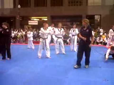 Colorado Springs Olympic Festival ALL TKD Show   closer view 2nd performance 07272012