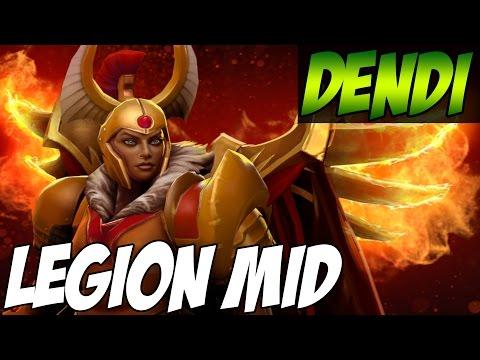 Legion Commander MID - EZ MMR - Dendi vs MinD_ContRoL - Dota 2