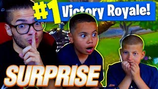IF 9 YEAR OLD WINS THIS SOLO GAME I WILL GET JAYDEN A HUGE *SURPRISE* FORTNITE BATTLE ROYALE! 🔥