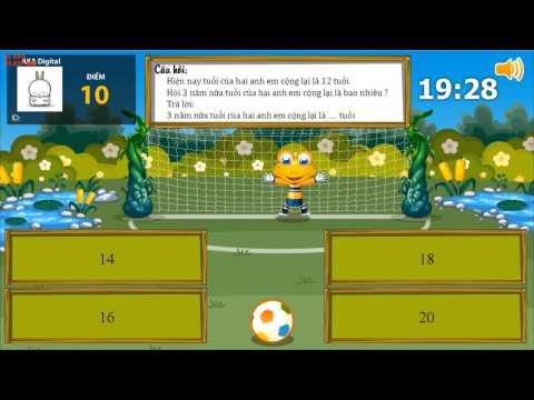 Game | Clip 8 Cóc vàng tài ba ViOlympic Em Giỏi Toán | Clip 8 Coc vang tai ba ViOlympic Em Gioi Toan