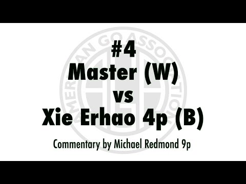 AGA Master Review Series. Game 4: Master [W] vs. Xie Erhao 4p [B]