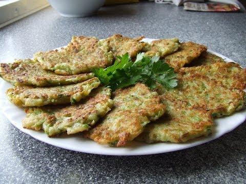 Кабачково - картофельные оладьи  Видео рецепт