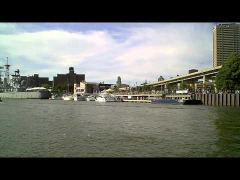 Buffalo River - Central Wharf and Naval Park - July 3, 2011.AVI
