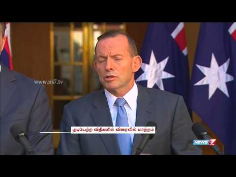 Australia PM Tony Abbott warns dual-citizen terrorists | World | News7 Tamil |