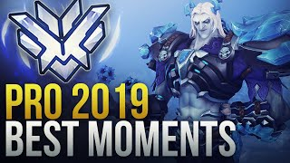 BEST PRO OVERWATCH MOMENTS 2019