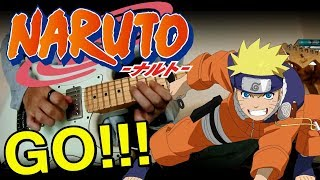 Download Lagu Naruto Opening 4 - Go! (Guitar instrumental) Gratis STAFABAND