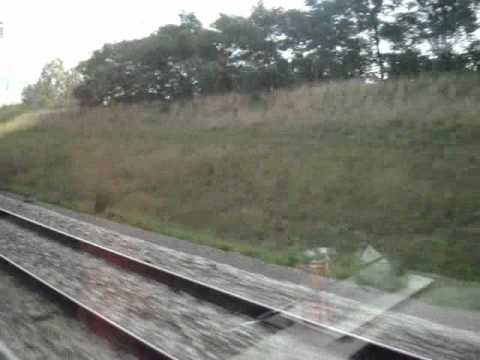 Super Fast Trains Crossing  Thalys and Eurostar Train @ 300KM/H (187Mph)