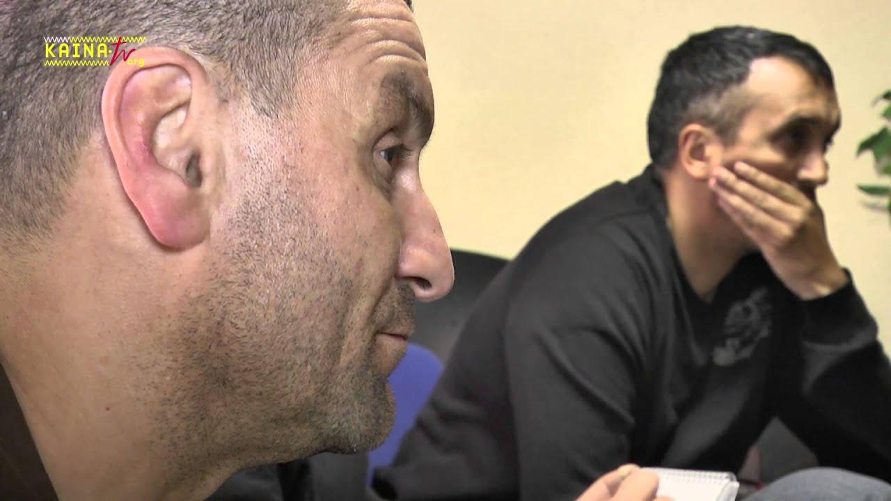 Mohamed Mechmache à la Paillade pour les Européennes 2014