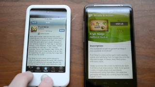 Thumb iPhone App Store vs Android Market