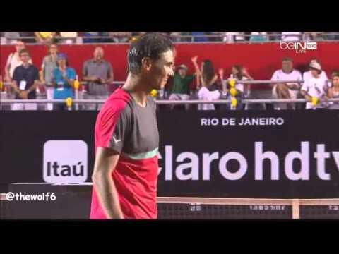 Rafael Nadal VS Alexandr Dolgopolov - Rio Open 2014 - Ceremony - 23-2-2014