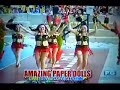 AMAZING PAPER DOLLS - IT'S SHOWTIME Inter-Town Edition GRAND FINALS