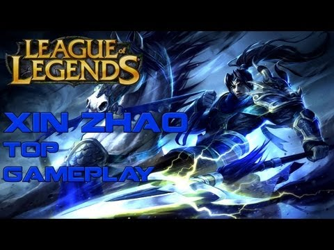 AD XIN ZHAO SOLO TOP - Live Commentary (How to win a 2v1 in the Top Lane)