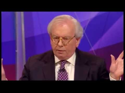 David Starkey teaches halfwitted panel lessons from history- Question Time 01/03/12.